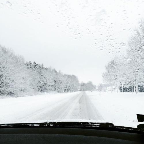 Driving Home From Christmas oder: Die Flucht aus der weißen Hölle.