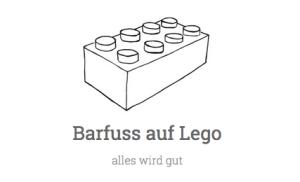 barfuss auf lego